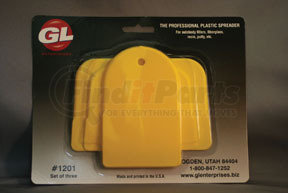 1200 by GL ENTERPRISES - Plastic Auto Body Spreaders, 1 Standard, 1 Large, 1 Giant