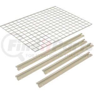 """716602 by GLOBAL INDUSTRIAL - Global Industrialâ""""¢ Additional Level For 48""""W x 24""""D High Capacity Rack Wire Deck - Tan"""