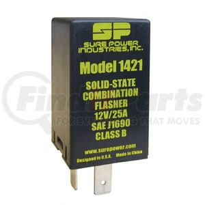 1421 by SURE POWER - FLASHER,25A,12V