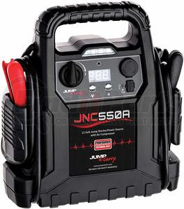 JNC550A by JUMP-N-CARRY - JNC550A 1100 Peak Amp  12V Jump Starter / Power Supply / Air Compressor