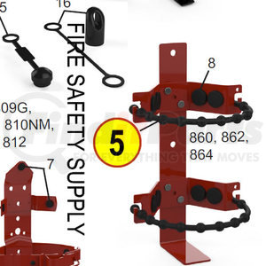 07802 by AMEREX CORP - STRAP FOR 864 3/8 RUBBER