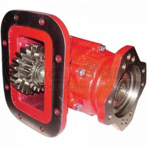3810XEN243RA by BEZARES USA - 3810 PTO Series - Hot Shift  8 Bolt 2-Gears Deep Mount, Pneumatic Mack (R/695)
