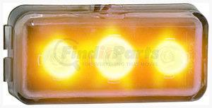 253SA-1 by PETERSON LIGHTING - 253S LED Ultra-Mini Strobing Light - Amber, Type 1