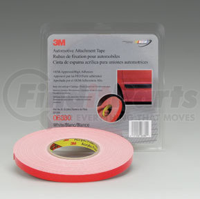 """Part No. 6385 3M 06385 1//4/"""" x 5 yd GRAY Double Sided Attachment Tape,"""