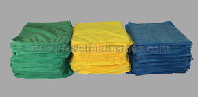 HT-20-100G by HI-TECH INDUSTRIES - Bulk Pack 100 Towels, Green