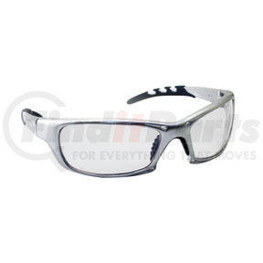 542-0200 by SAS SAFETY CORP - Silver Frame GTR™ Safety Glasses with Clear Lens