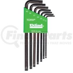 10907 by EKLIND TOOL COMPANY - 7 Piece Long Torx® L-Key Set