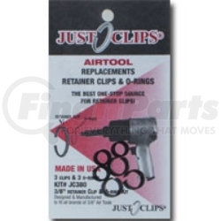 500-12 by JUST CLIPS - 12Pack 1/2 Anvi