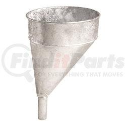 75-002 by PLEWS - Offset Galvanized Funnel, 5-Quart