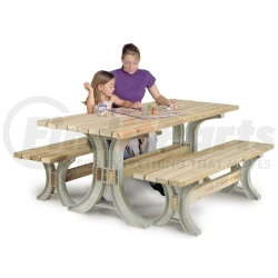 90182 by UNITED MARKETING INC - BLITZ PICNIC TABLE KIT, SAND