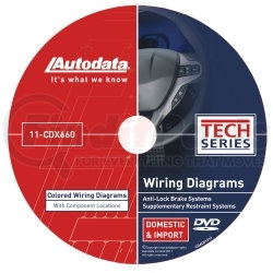 11-CDX660 by AUTODATA - 2011 Wiring Diagrams DVD - SRS and ABS