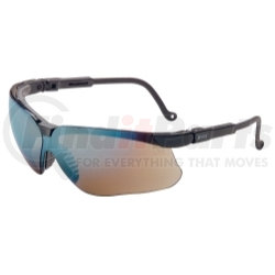 S3203 by UVEX - Genesis® Black Frame Glasses with Gold Mirror Lens with UD Coating
