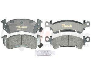 ATD52M by RAYBESTOS - Disc Brake Pad Set Semi Metallic