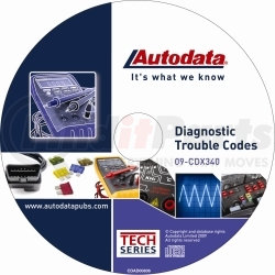 09-CDX340 by AUTODATA - 2009 Diagnostic Trouble Code CD