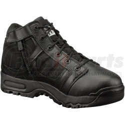"""1231-BLK-9.5 by THE ORIGINAL SWAT FOOTWEAR CO - 5"""" Non Visible Air (N.V.A.) Shoe with Side Zipper, Size 9.5"""