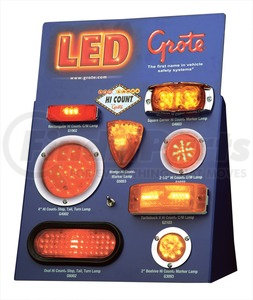 00931 by GROTE - LED Counter Display, Counter Top Display