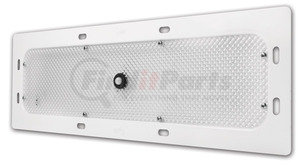"""61H91 by GROTE - LED WhiteLight™ Recessed Mount 18"""" Dome Light - Motion Sensor, 6 Diodes, White"""