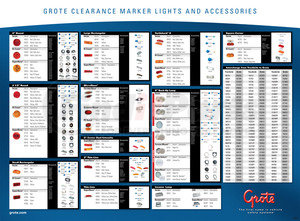 99080 by GROTE - LED Counter Display, Mat 14″ x 19″