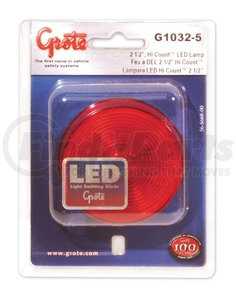 Grote G3092 Hi-Count 2 Red Beehive LED Lamp