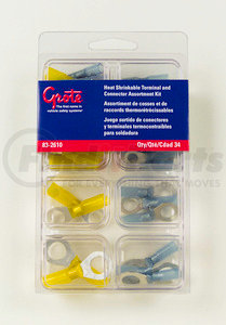 83-2610 by GROTE - Heat Shrinkable Terminal Assortment Kit