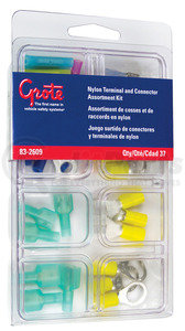 83-2609 by GROTE - Nylon Terminal & Connector Assortment Tray