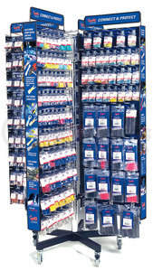 01061 by GROTE - 8 SIDED ELECTRICAL ACCESSORY DISPLAY