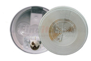 61451 by GROTE - Torsion Mount® II 4″ Round Male Pin Dome Lamp, Clear