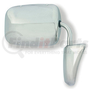 28373-5 by GROTE - Chevrolet / GMC Full-Size Truck & Van Mirror Assembly, Stainless-Steel, Retail Pack