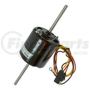 """26-14500-F by OMEGA ENVIRONMENTAL TECHNOLOGIES - Blower Motor - 12V, Double Shaft, 3"""" Diameter"""