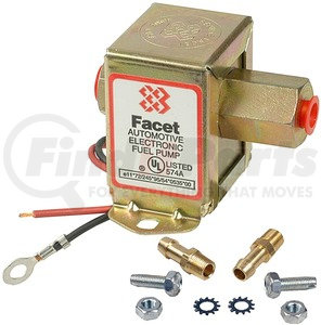 FEP12SV by FACET FUEL PUMPS - 40106 CLAMSHELL w/ki