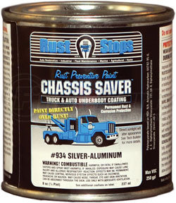 UCP934-16 by MAGNET PAINT CO - Chassis Saver™ Silver Aluminum, 1/2 Pints