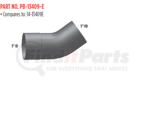 PB-13409-E by GRAND ROCK - ELBOW5 IN