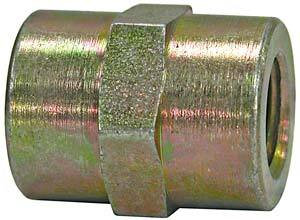 H3309X8X6 by BUYERS PRODUCTS - Coupling 1/2 Inch Female Pipe Thread To 3/8 Inch Female Pipe Thread