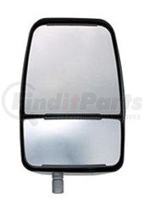 715512 by VELVAC - Velvac RV Mirror Deluxe Passenger Side Mirror Head Assembly - Manual, White