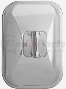 """30501 by CHAM-CAL - 7 1/2""""x 10 1/2"""" Medium Duty Truck Mirror, Stainless Steel"""