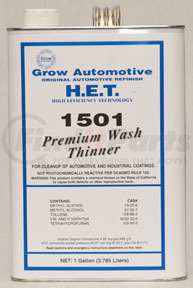 1501-1 by GROW AUTOMOTIVE - Premium Wash Solvent (PLEASE CALL TO COMPLETE PURCHASE ON THIS ITEM.)