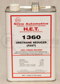 1360-1 by GROW AUTOMOTIVE - Fast Dry Spray-On Urethane Reducer