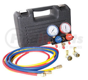 """6760SPC by FJC, INC. - R134a Manifold Gauge and Hose Set with 60"""" Hoses"""