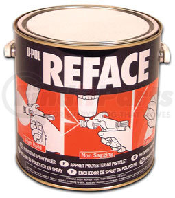 UP0733 by U-POL PRODUCTS - Reface - Polyester Spray Filler, White, 5lbs