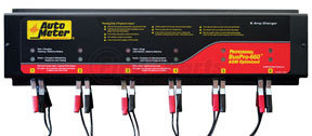 BUSPRO-660 by AUTO METER PRODUCTS - 120V 5 Amp 6-Channel AGM Optimized Smart Battery Charger