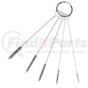 209 by AES INDUSTRIES - 5 Piece Precision Mini Twisted Brushes