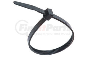 "20414 by ATD TOOLS - 14"" Black UV Stabilized Nylon Cable Ties, 100 pc."