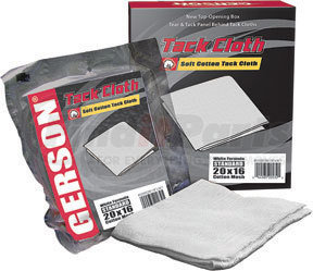 20002W by GERSON - Tack Cloth - High Tack, Standard (20 x 16) Mesh, White Cotton