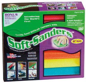 """702 by STYLE LINE - 8"""" Soft-Sanders Automotive Set, 6Pc"""