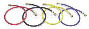 """41362 by MASTERCOOL - 36"""" Yellow Standard Charging Hose with 1/4"""" SAE Standard Fitting"""
