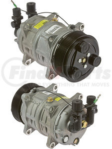 20-46120-HP by OMEGA ENVIRONMENTAL TECHNOLOGIES - A/C Compressor HP160 EAR V ORG 8GR 120 3E 12V B 1W