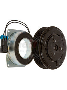 22-11289 by OMEGA ENVIRONMENTAL TECHNOLOGIES - CLUTCH YORK PV8 12V 2WIRE 155mm GROOVE DIA