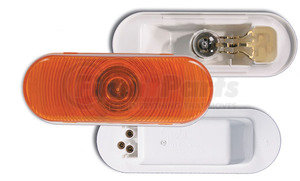52893-3 by GROTE - Oval Torsion Mount® III Stop/Tail/Turn Lamp, Yellow, Female-Pin, Retail Pack