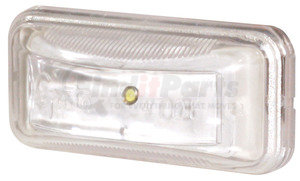 60421-3 by GROTE - Small Rectangular LED Utility Lamp, Clear