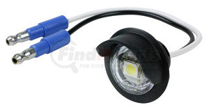 60721-3 by GROTE - MicroNova® Dot LED License Lamp, With Hooded Grommet, Clear